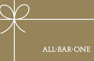 All Bar One Gift Card UK