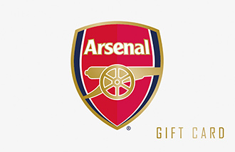 Arsenal Football Club Gift Card UK