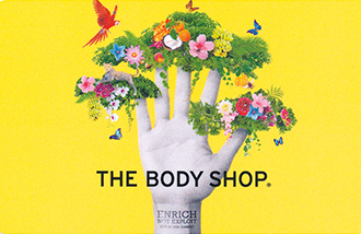 The Body Shop Gift Card UK