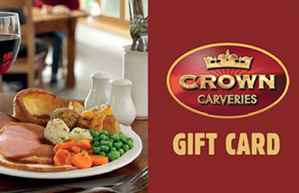 Crown Carveries Gift Card UK