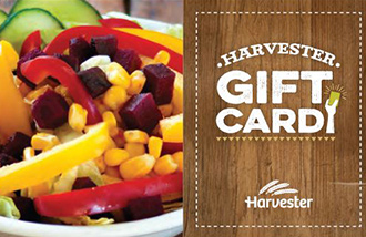 Harvester Gift Card UK