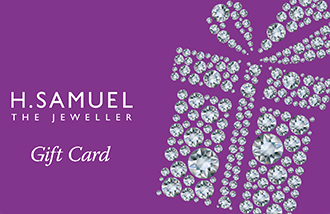 H Samuel Gift Card UK