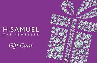 H Samuel Gift Card