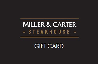 Miller & Carter Gift Card UK
