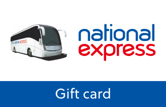 National Express Gift Card