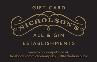 Nicholson's Gift Card UK