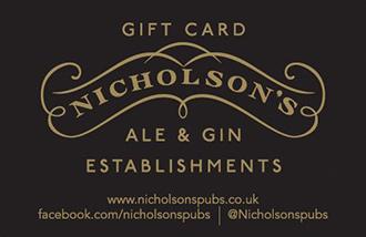 Nicholson's Gift Card