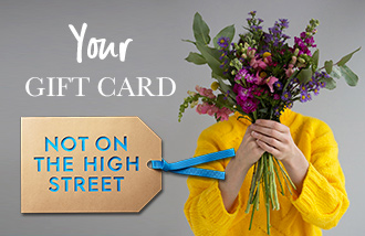 Not on The High Street Gift Card