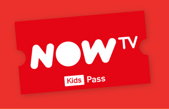 NOW TV Kids 2 Month Pass Gift Card