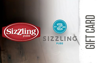 Sizzling Pubs Gift Card UK