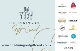 The Dining Out Card Gift Card UK
