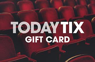 TodayTix Gift Card
